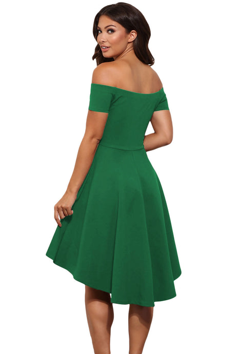 Green Rave Skater Dress