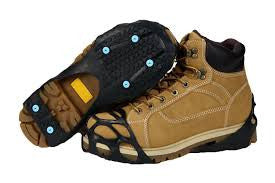 Mountain Made Snow and Ice Traction Cleats for Light Duty. Stabilizers For Multi Purpose-Running and Walking.