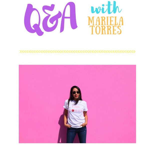 As Told By Women - Q&A with Mariela Torres