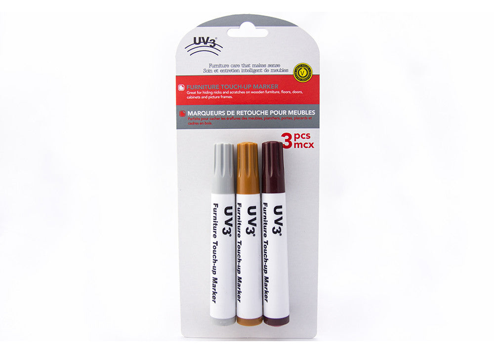 UV3 Furniture Touch-Up Markers