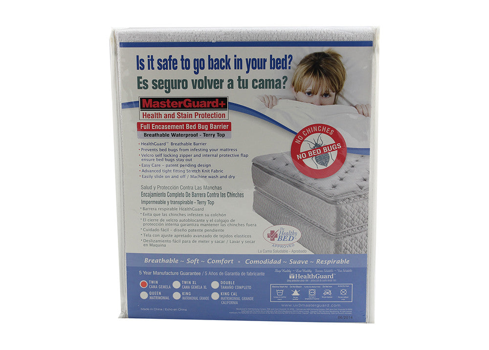 Waterproof Bed Bug Encasement