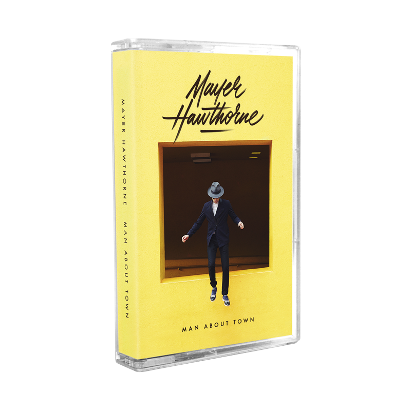 Man About Town Cassette - Mayer Hawthorne