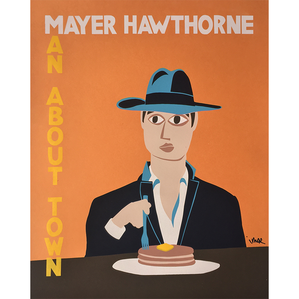 T-Shirt + Poster Bundle - Mayer Hawthorne - 4