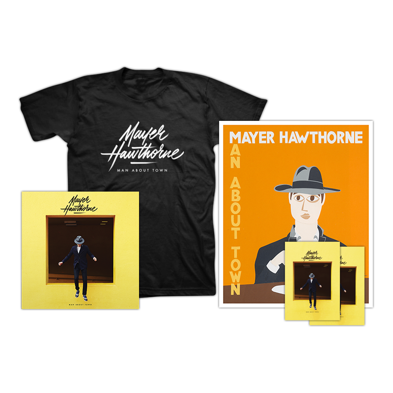 T-Shirt + Poster Bundle - Mayer Hawthorne - 1
