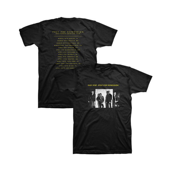 Album Cover Unisex Tour Tee - Post Pop Depression - 1