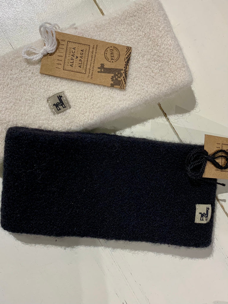 The Alpaca Headband (Black)