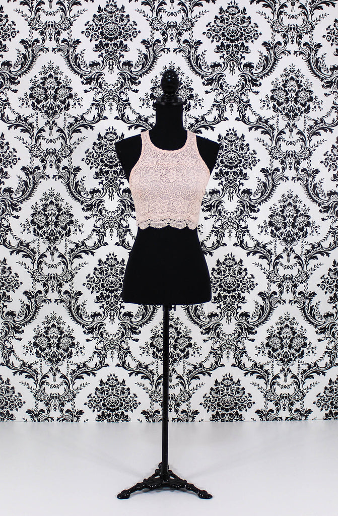 Lace Crop Top - It's So Mimi