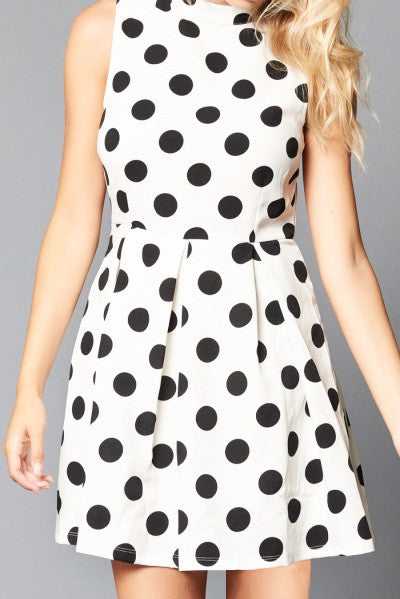 Polka Dot Dress - It's So Mimi