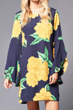 Floral Printed Dress - It's So Mimi