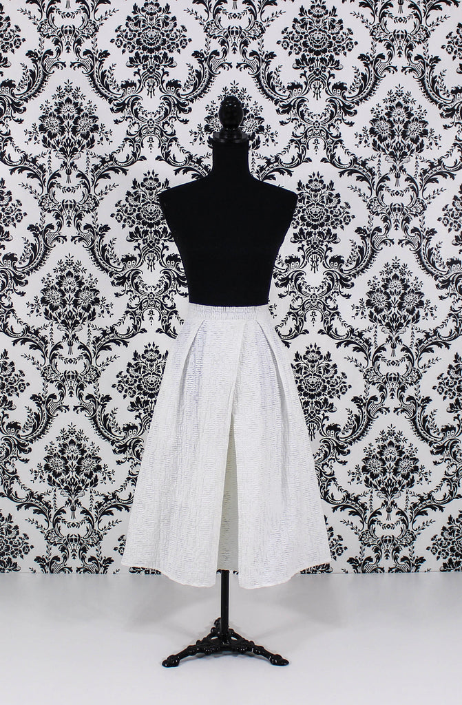 Flared Midi Skirt - It's So Mimi