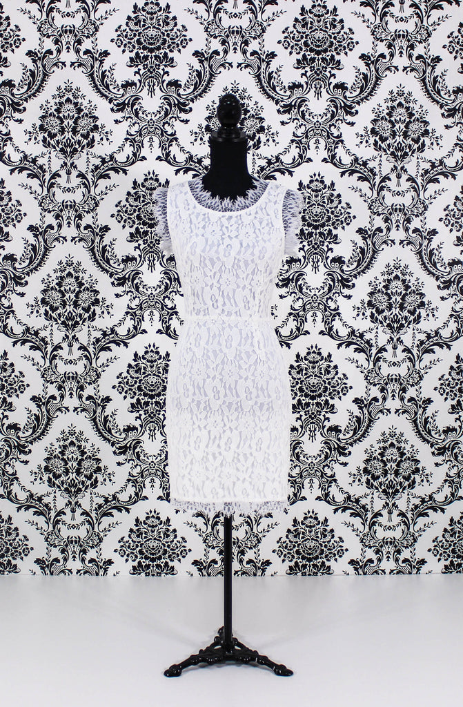 Lace Dress with Bows - It's So Mimi