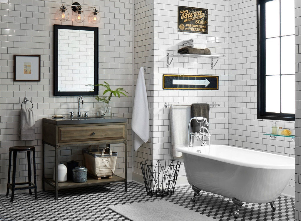 Get The Look With Cle Essentials Industrial Inspired Bathroom