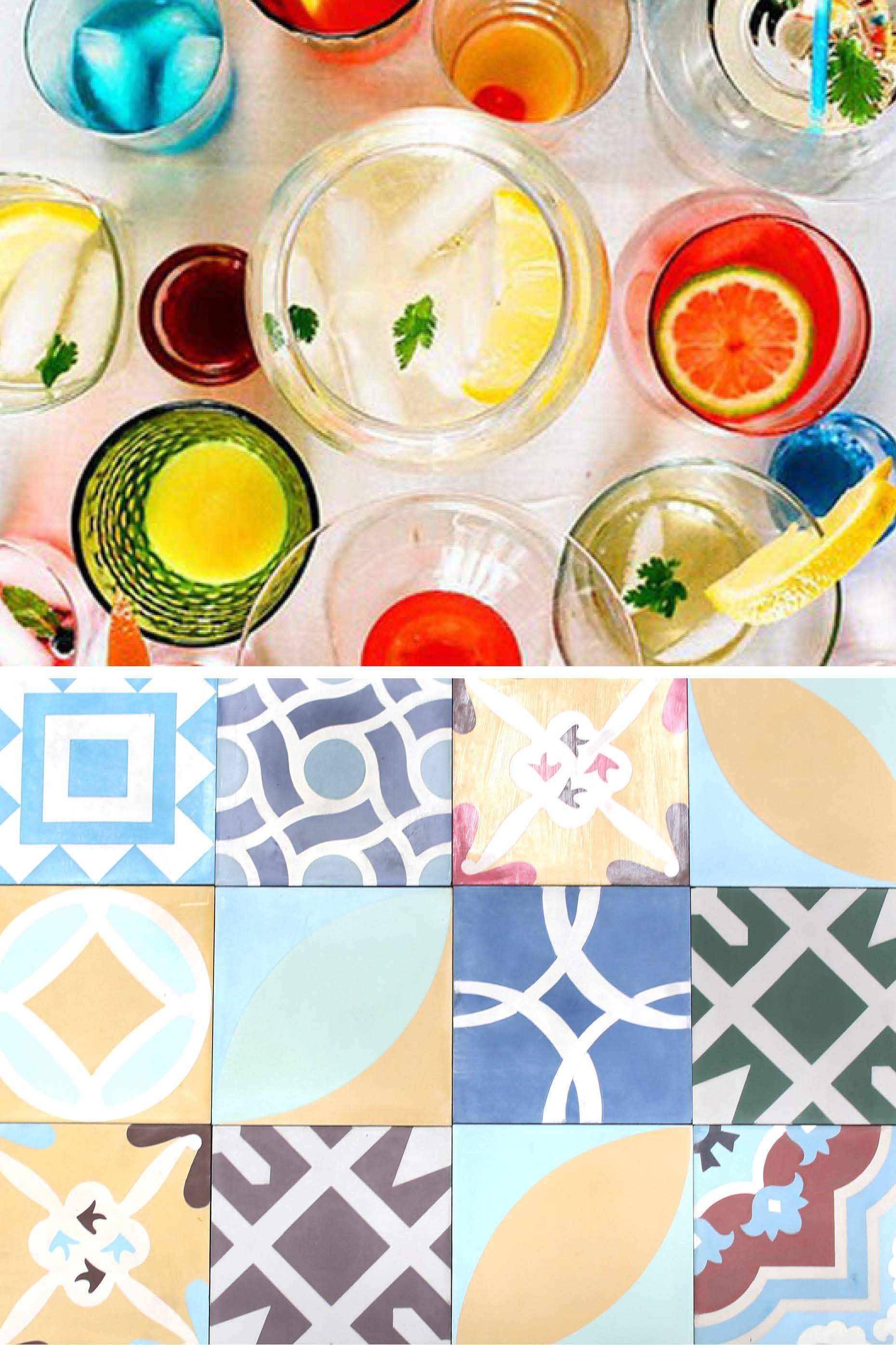 the art of patchwork... colorful saturdays