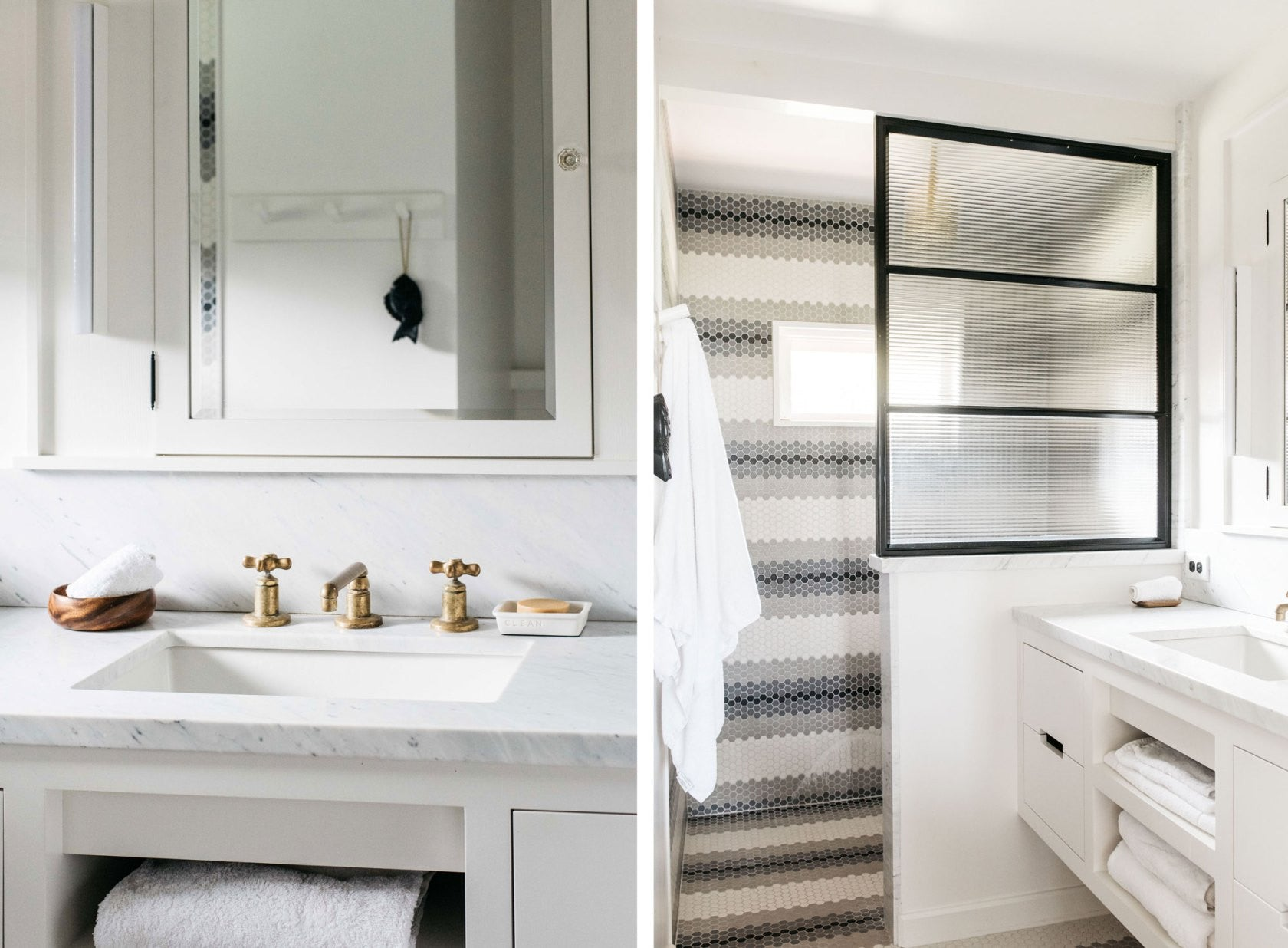 Monday Mention Modern And Bright Cottage Interior With Remodelista - Remodelista bathroom
