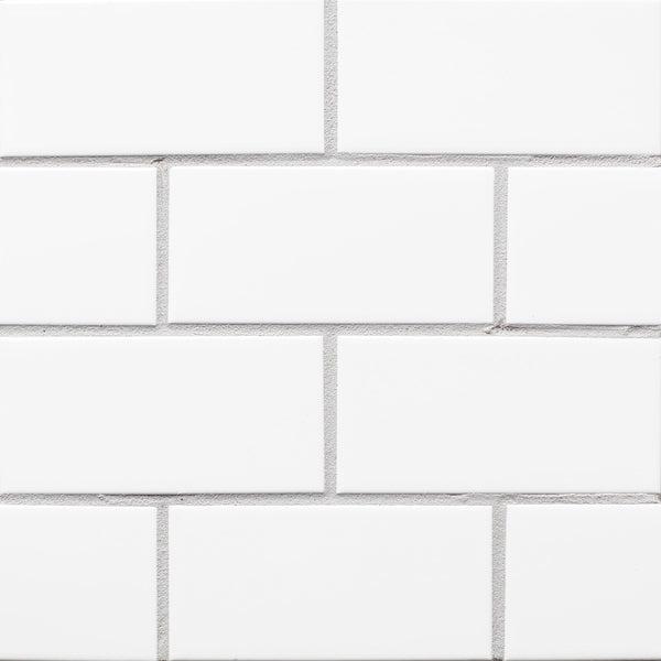 white avalanche tile grout