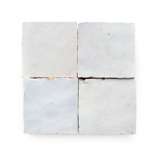 cle tile weathered white glazed terracotta tiles