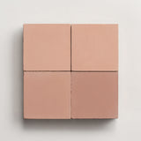 "solid square red clay 2""x2"" made to order sample"