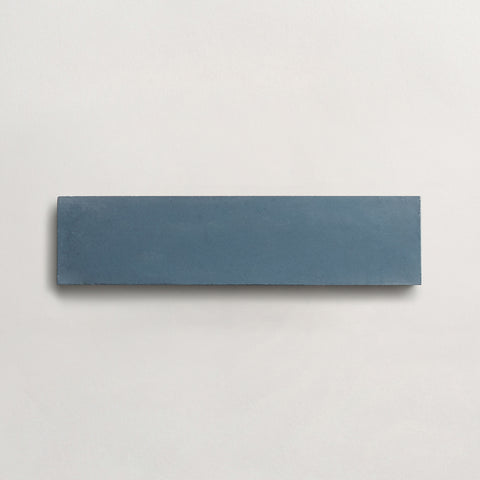 "cement solid federal blue rectangle 2""x8""x5/8"" sample"