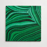"deborah osburn malachite 12""x12""x3/8"" sample"