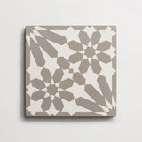 "cement moroccan one (andalucia) metal + white square 8""x8""x5/8"" sample"