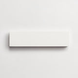 "white solid white rectangle 2""x8""x5/8"""