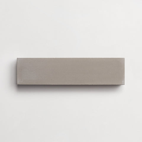 "cement  solid metal rectangle 2""x8""x5/8"" sample"