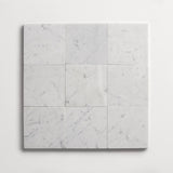 "clé basics carrara square tile 4""x4""x3/8"""