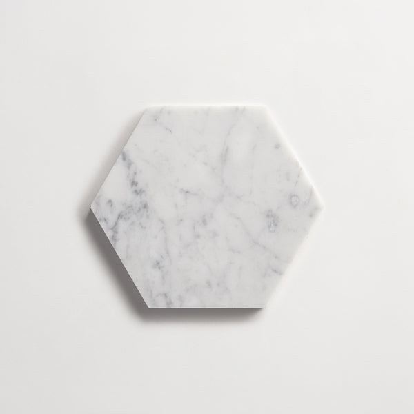 https www cletile com products cle carrara 5 hexagon