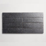 "clé basics modern farmhouse brick gunmetal matte rectangle <br> 2 1/2""x9 1/2""x3/8"""
