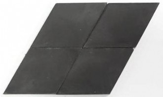"solid diamond charcoal 4.5""x8""x5/8"" sample"
