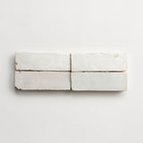"zellige weathered white bejmat 2""x6""x3/4"""