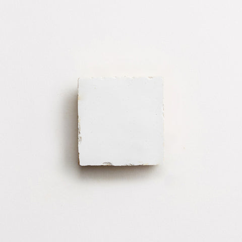 "zellige moroccan sea salt mounted square 2""x2""x3/8"" sample"