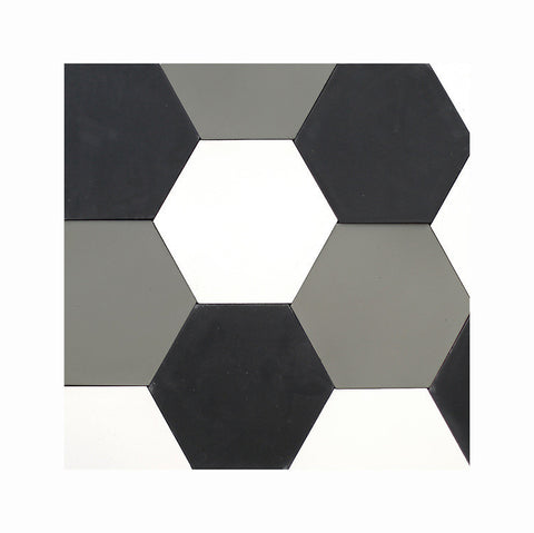 black white grey hex medley