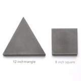 solid triangle 12""