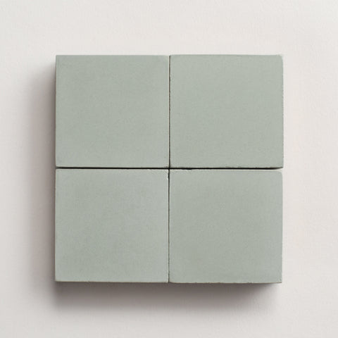 "solid square celadon 2""x2"" made to order sample"
