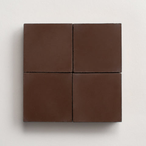 "solid square dark chocolate 2""x2"" made to order sample"