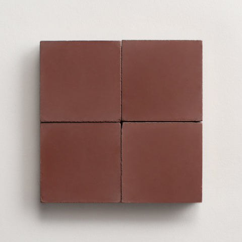 "solid square radicchio 2""x2"" made to order sample"