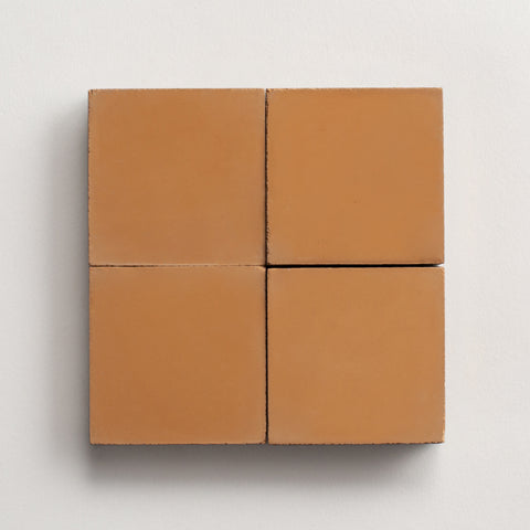 "solid square river clay 2""x2"" made to order sample"