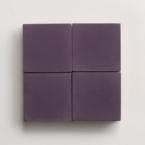 "solid square royal purple 2""x2"" made to order sample"