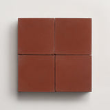 "solid square russet 2""x2"" made to order sample"