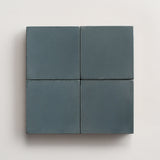 "solid square powder teal 2""x2"" made to order sample"