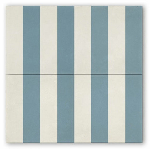 "bold stripe - 8""x8"" special order - Cle Tile"