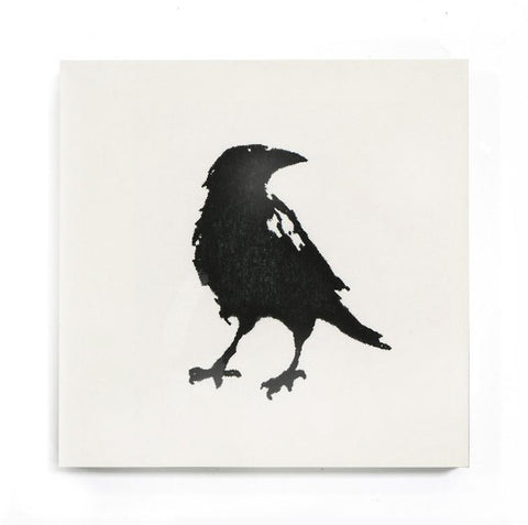 "deborah osburn - shakespeare crow 8""x8""x5/8"" sample"