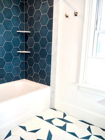 ... hex clip ... & Encaustic Cement Tiles: Artisanal Handmade with Love by clé tile