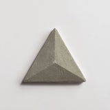 "fornace brioni mantegna grey cotto Ø1 triangle 6""x6 3/4""x1"""