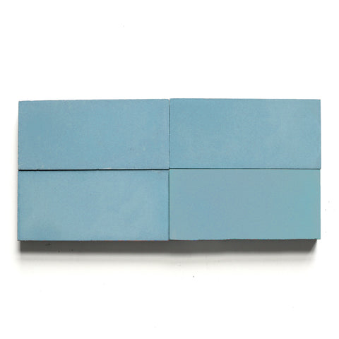 "solid rectangle 4""x8""x5/8"" special order happy blue"