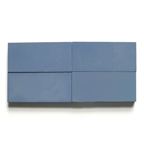 "solid rectangle 4""x8""x5/8"" made to order nautical blue"