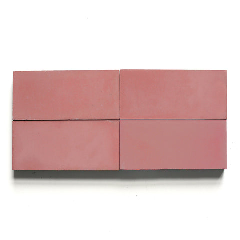 "solid rectangle 4""x8""x5/8"" special order red clay"
