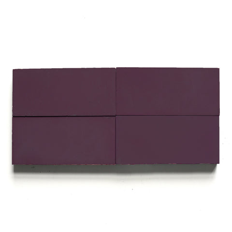 "solid rectangle 4""x8""x5/8"" special order royal purple"