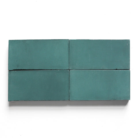 "solid rectangle 4""x8""x5/8"" special order powder teal"